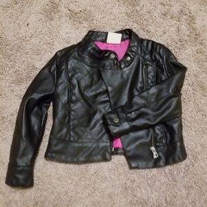 OshKosh B'gosh Faux Leather Jacket 4T
